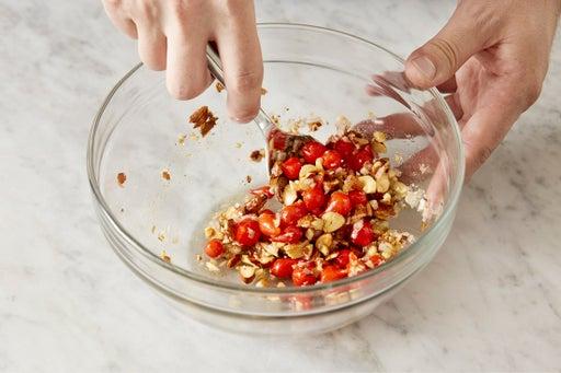 Make the relish:
