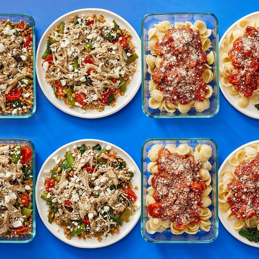 Multi-Cooker Shredded Chicken & Hot Italian Pork Sausage