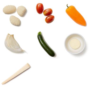 Vegetable Pasta with Grana Padano Cheese
