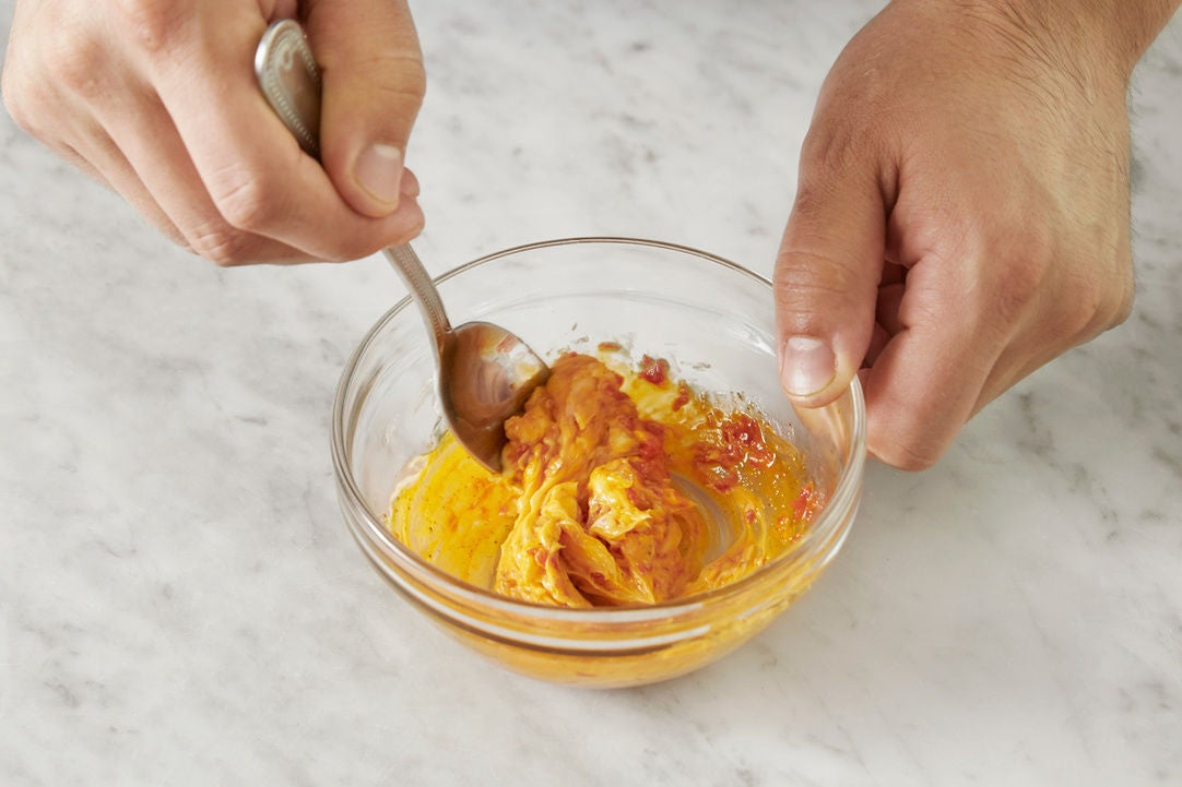 Make the chile butter: