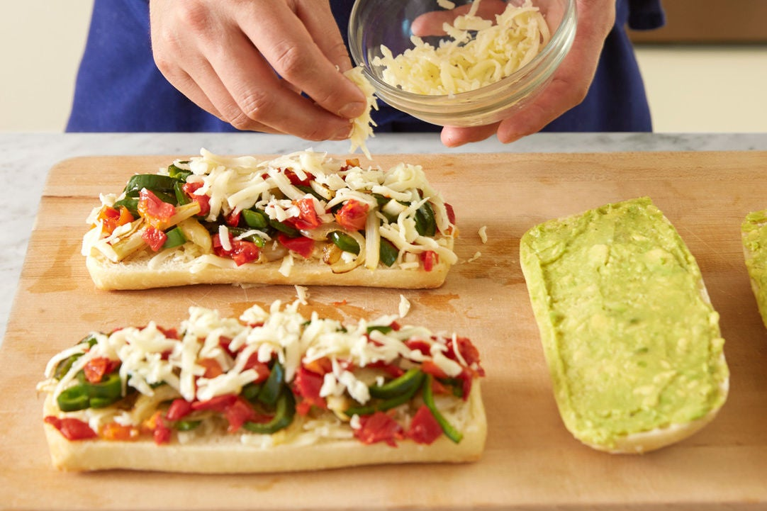 Recipe: Spicy Poblano Pepper & Cheese Tortas with Summer ...
