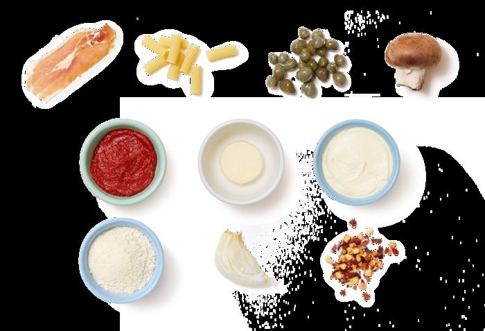 Creamy Prosciutto & Tomato Pasta with Brown Butter Breadcrumbs