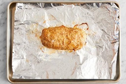 Form, cook & slice the meatloaf: