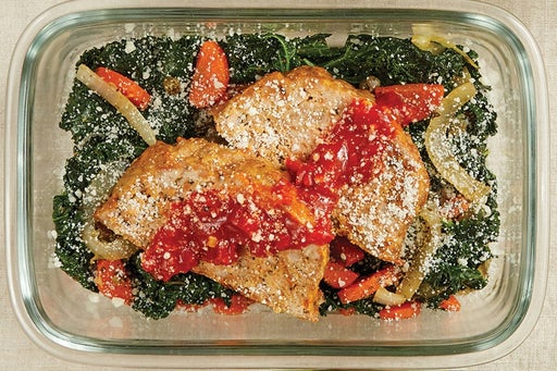 Finish & Serve the Turkey Meatloaf & Calabrian Ketchup: