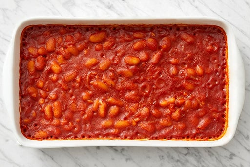 Make the baked beans: