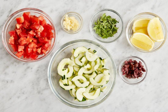Prepare the remaining ingredients: