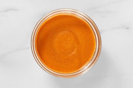 Make the Creamy Guajillo Sauce: