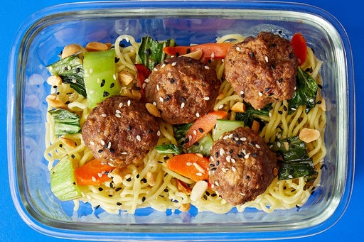 Finish & Serve the Sweet & Spicy Meatballs: