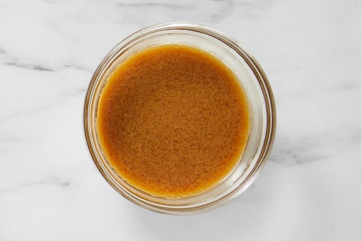 Make the Soy-Miso Sauce: