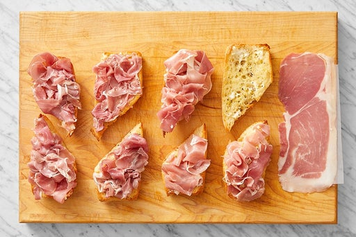 Make the crostini