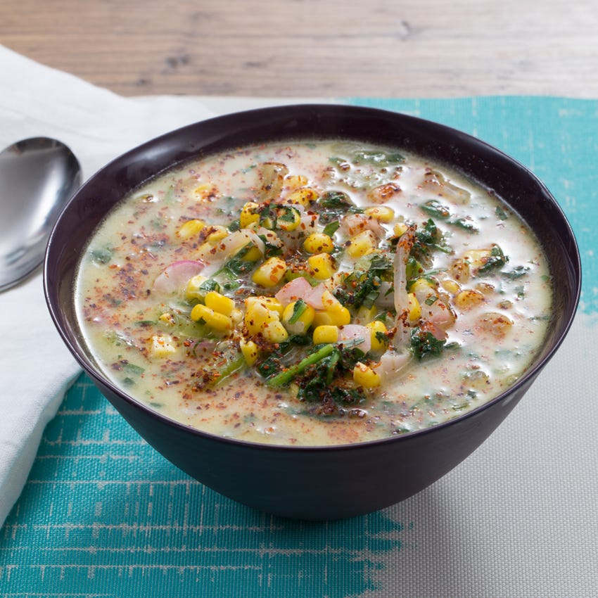Summer Corn & Vegetable Chowder