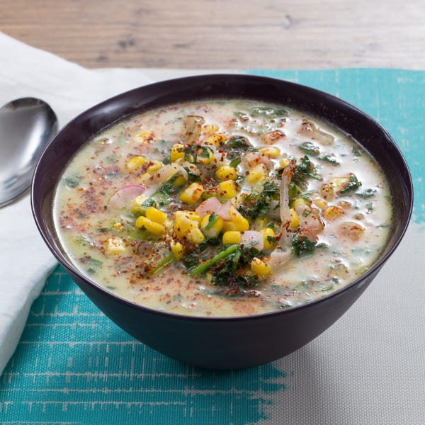 Summer Corn & Vegetable Chowder