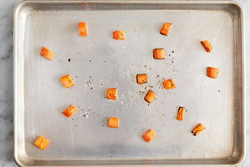 Prepare & roast the carrots