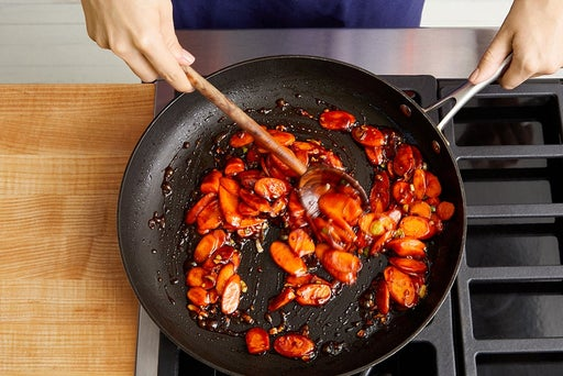 Cook the carrots & serve your dish