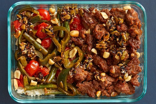 Finish & Serve the Mexican-Style Beyond Beef™: