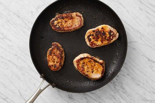 Cook the pork
