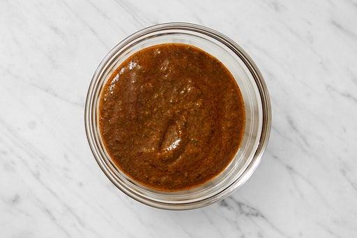 Make the Harissa-Cilantro Sauce