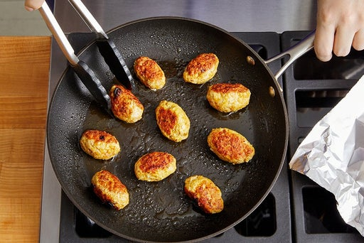Cook the kofta