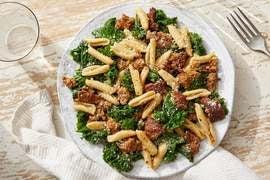 Discontinued Cavatelli & Hot Italian Pork Sausage with Kale & Parmesan