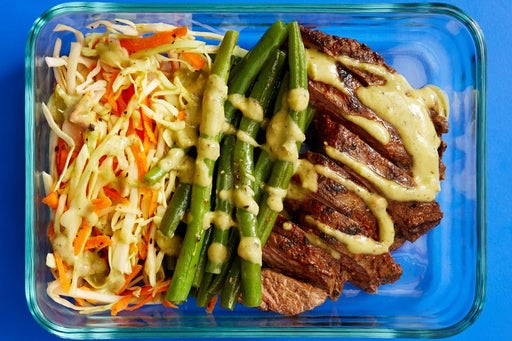 Finish & Serve the Smoky Steak Sandwiches