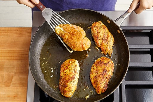 Cook the chicken & serve your dish