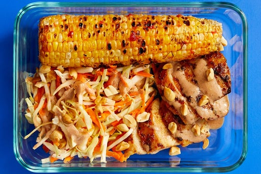 Finish & Serve the Grilled Chicken & BBQ Mayo