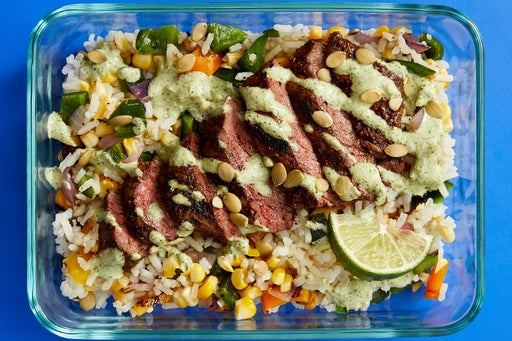 Finish & Serve the Mexican-Spiced Steak