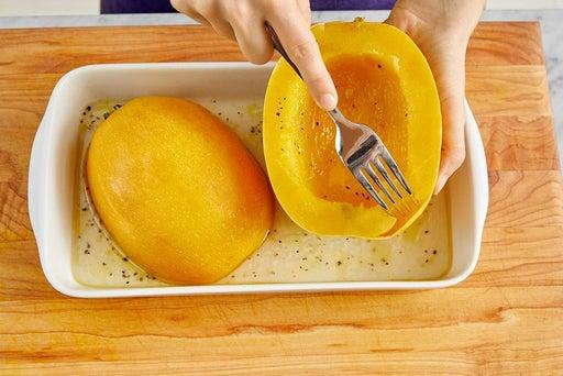 Prepare & cook the squash