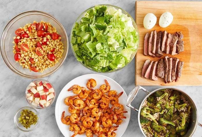 Carb Conscious with Steak & Shrimp