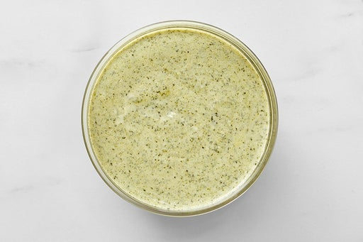 Make the Cilantro Yogurt