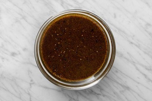 Make the Curry Cilantro Sauce