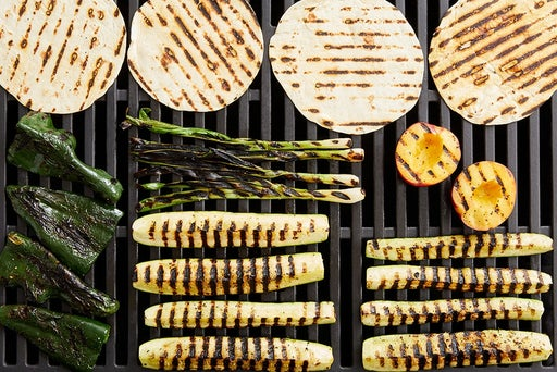 Grill the remaining ingredients