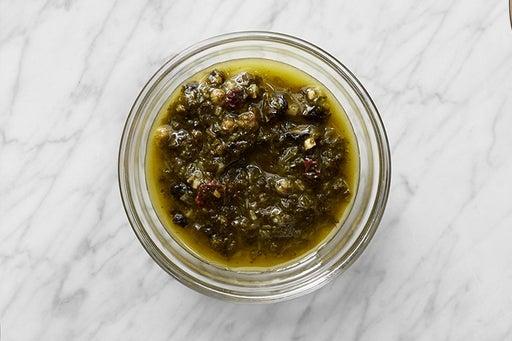 Make the Currant-Herb Salsa