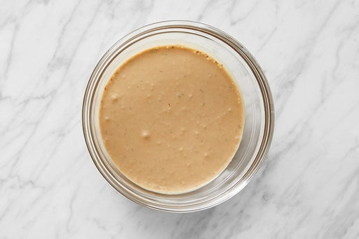 Make the Creamy Balsamic Dressing
