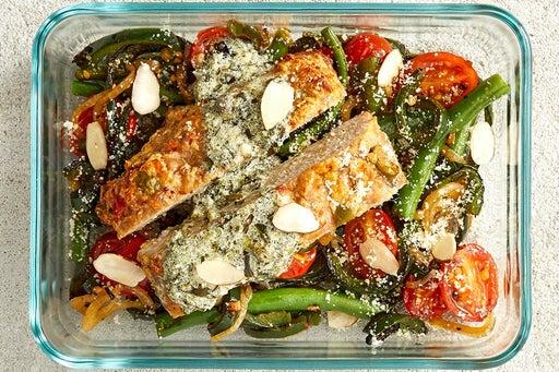 Finish & Serve the Italian-Style Turkey Meatloaf