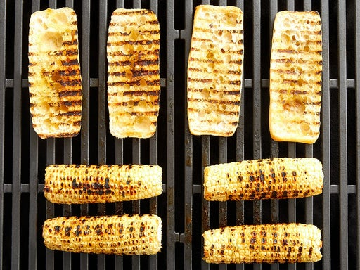 Grill the corn & baguettes