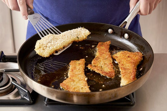 Cook the rockfish:
