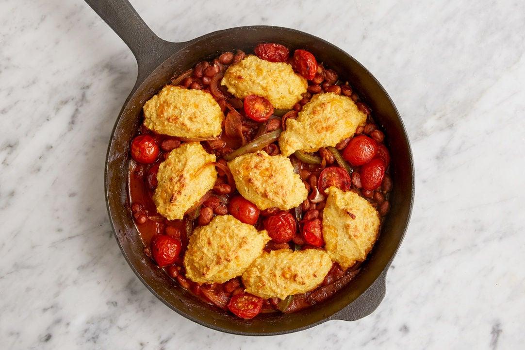 Finish & bake the chili: