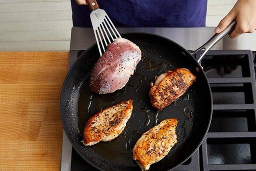 Cook the duck & chicken
