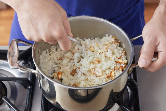 Finish the rice: