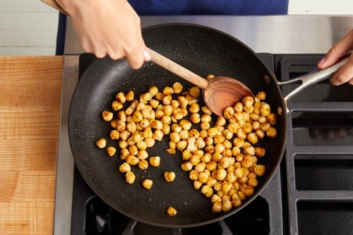 Cook the chickpeas