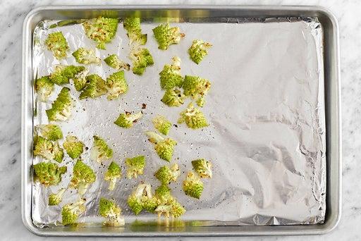 Prepare & roast the cauliflower