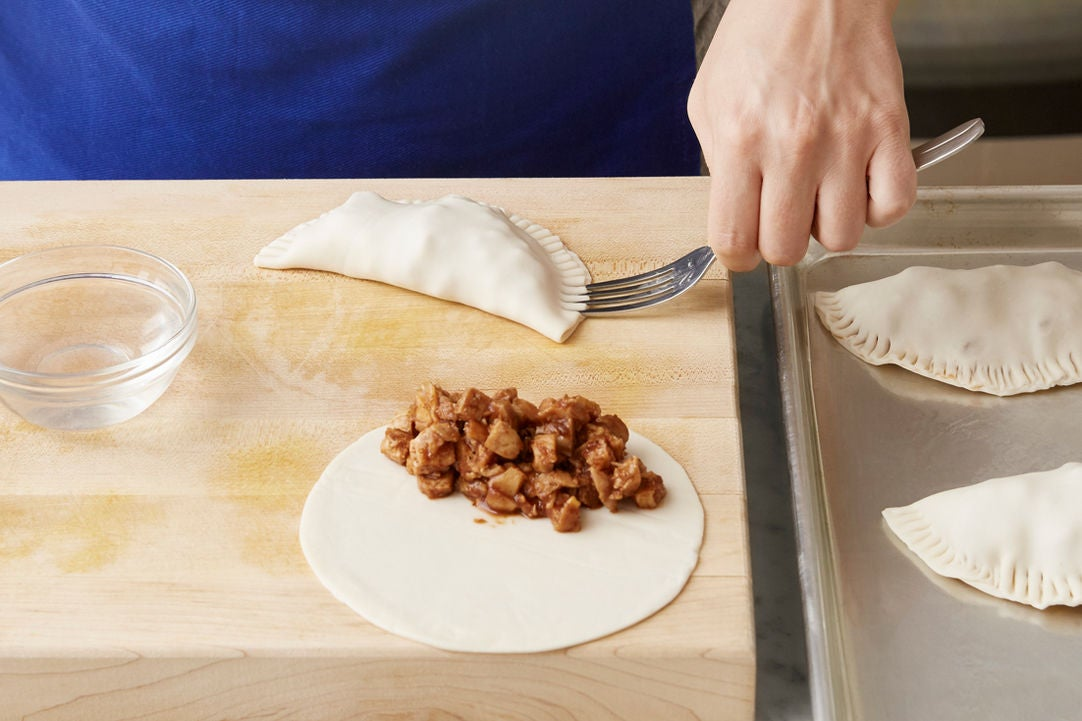 Assemble & bake the turnovers: