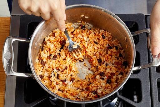 Make the romesco rice