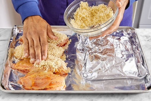 Prepare & bake the chicken