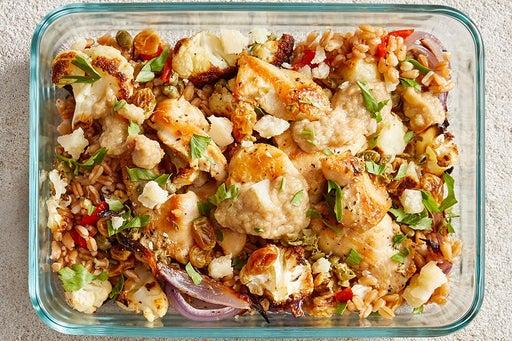 Finish & Serve the Seared Chicken & Farro