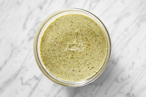 Make the Cilantro Sour Cream