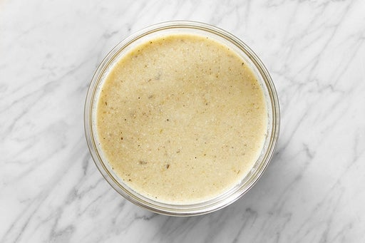 Make the Creamy Tomatillo Sauce