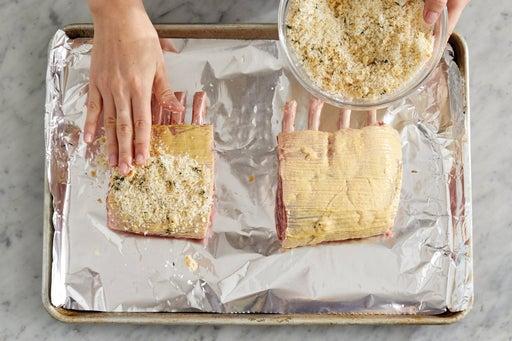 Prepare & roast the lamb