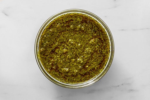Make the Spicy Cilantro Sauce